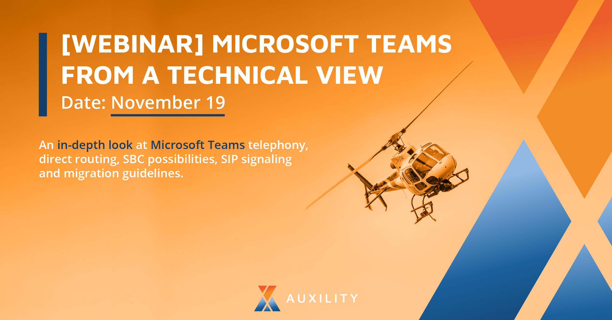 Microsoft Teams Webinar